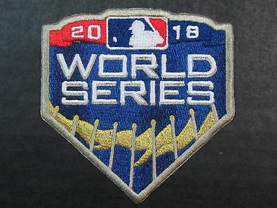 MLB Los Angeles Dodgers vs Boston Red Sox 2018 World Series Bound Iron-On Patch