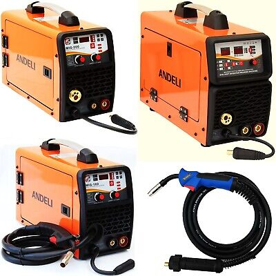 200Amp Mig/Mag/Flux/Tig/Mma/Arc 5 In 1 Igbt Dc Inverter Welder + Accessories