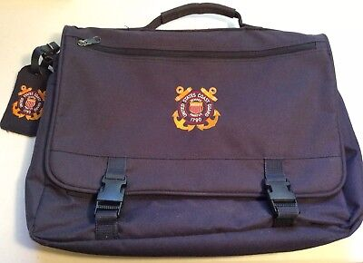 United States Coast Guard Briefcase or Book Bag Semper Paratus USCG