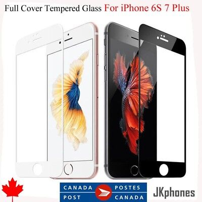 Full Screen Tempered Glass Screen Protector for Apple iPhone 7 & iPhone 8
