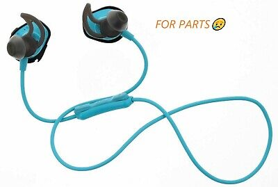 Bose SoundSport Wireless Headphones Neckband Bluetooth Aqua FOR PARTS!!!