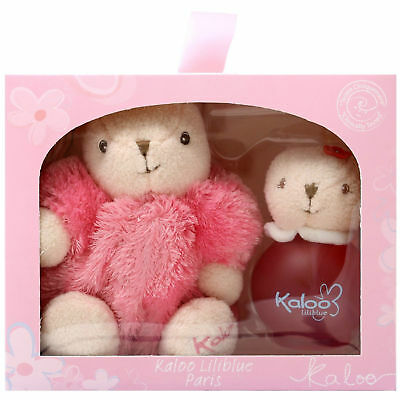Kaloo Liliblue Cologne Spray 50ml / 1.7oz Alcohol Free+Kaloo Pink Rabbit Set