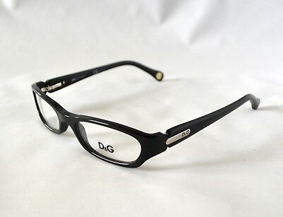 66d5f69956f7 AUTHENTIC DOLCE   GABBANA Eyeglasses DG5004 501 Black Frames 55mm Rx ...