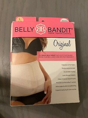 Belly Bandit Original Postpartum Wrap Large Nude