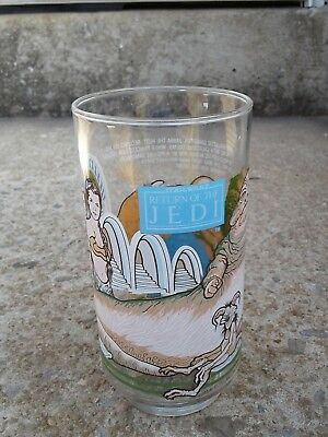 Star Wars Return Of The Jedi Burger King, Coca Cola Glass. 1983 Free Ship