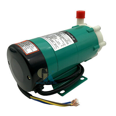 220V Magnetic Circulation Pump 1.59GPM Magnetic-driven Cycle Pump Food/Chemical