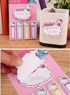 Bookmark Notepad Hello Kitty Sticky Notes 5pcsMemo Japan Kawaii Cute Notepad NEW