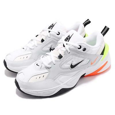 01b4b25344b Nike M2K Tekno Pure Platinum Black Orange White Yellow Men Daddy Shoe AV4789 -004