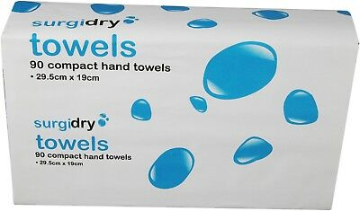 Surgidry Interleaved Compact Hand Towels