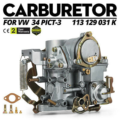 Volkswagen Carburatore 34 PICT-3 VW Beetle Air Cooled Solex Replica Replacement