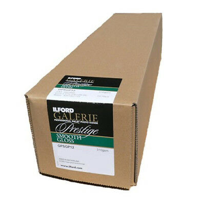 """Ilford Galerie Smooth Gloss 310GSM 24"""" x 27m (61cm x 27metres) Roll"""