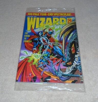 Wizard Sealed Comic Guide To Comics  -  January 1994 No.29