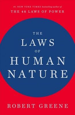 Laws of Human Nature, Hardcover by Greene, Robert, ISBN-13 9780525428145 Free...