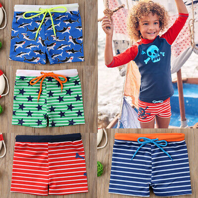 Kids Boy Swim beach Shorts Bottoms Pant Boy's Cartoon surfing Swimwear 0-6 Years