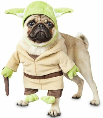 Star Wars Yoda Illusion Dog Costume Pet Halloween Cute Funny Movie Fancy