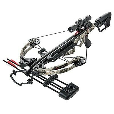 Bear X Karnage Apocalypse LS Kryptek Camo Crossbow Lighted Scope Pkg AC83A2B175