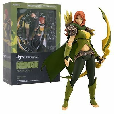 figma SP-070 DOTA 2 WINDRANGER 13cm Action Figure Toys Gift Collection