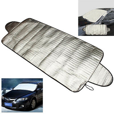 Car Smart Windshield Cover Anti Shade Frost Snow Protector UV Protection Sliver