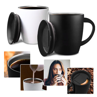 Stainless Steel Wine Cup Coffee Mug Vacuum Thermos Cup Travel Mug Insulation