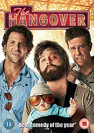 The Hangover - Brand New Sealed UK DVD.   ONLY £2.49 & FREE UK DELIVERY!