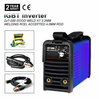 Igbt  Inverter Zx7-200 Weld Welder Welding Mma Machine Zx7-200 With Consumables