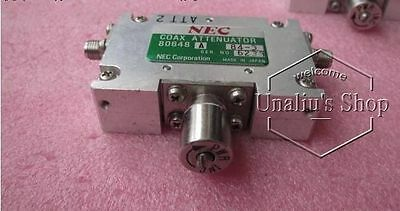 used NEC 80648A 4-20GHz 0-40dB SMA  Variable attenuator