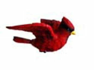 Clark Collection Cardinal Window Magnet,Red