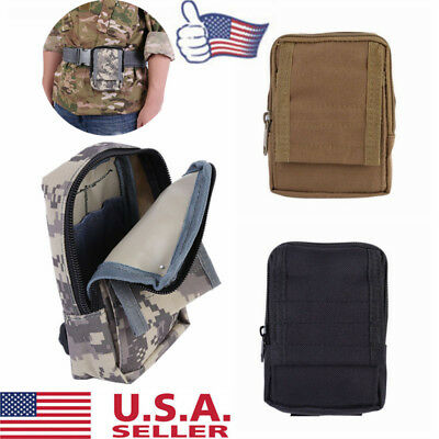 2b17ec0b2a22 OUTDOOR MILITARY TACTICAL Waist Pack Belt Bag Camping Hiking Molle Pouch  Wallet