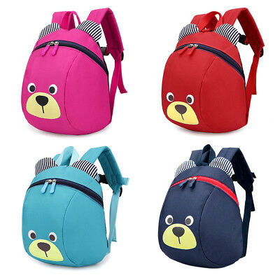 Bear Small Toddler Backpack with Leash Children Kids Backpack Bag for Boy Girl