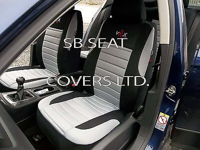 i - TO FIT A NISSAN LEAF CAR, S/ COVERS, GREY VRX SPORTS, FULL SET
