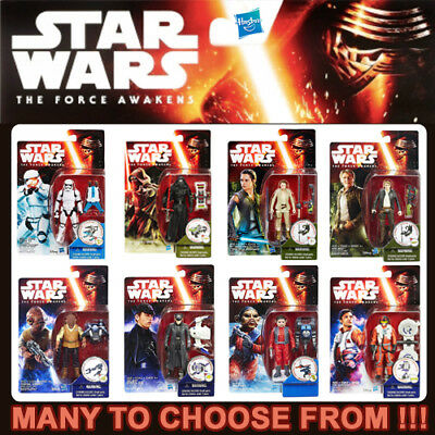 """HASBRO STAR WARS THE FORCE AWAKENS 3¾"""" Action Figure Series (3.75 Inch)"""