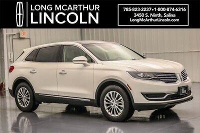 2018 Lincoln MKX SELECT PLUS FWD 3.7 V6 SUNNROOF NAVIGATION MSRP $48055 ELECT PLUS PACKAGE SONATA SPIN ALUMINUM TRIM LINCOLN MKX CLIMATE PACKAGE