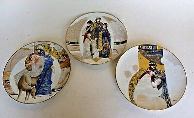 Edwin Knowles 3 Collectors Plates Ltd.Ed.Biblical Mary And Jesus & More