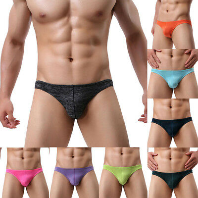 Sexy Mens Underwear Cotton Shorts Male Thong Bikini Trunks Kinckers Underpants