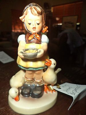 Vintage Hummel Figurine 1949 Be Patient Vintage Piece Pottery