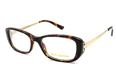 1ca8c6304a TORY BURCH TY 2062 1033 Eyeglasses Optical Frames Glasses Tortoise ~ Gold  51mm