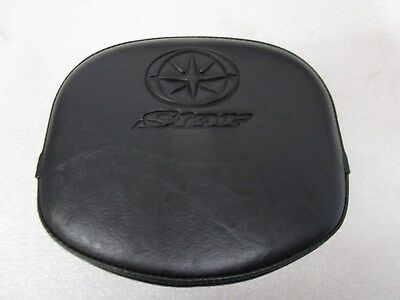 Genuine New Yamaha Midnightstar Xvs950A - Xvs1300A Passengers Backrest-Star Logo