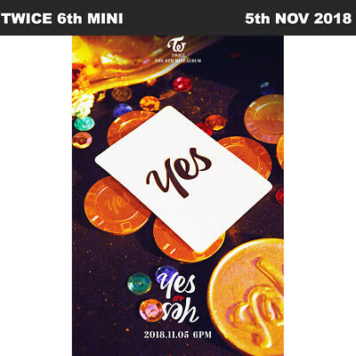 TWICE Yes or Yes 6th Mini Album CD+Booklet+Photocard+Etc+Tracking Number