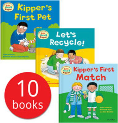 Biff, Chip and Kipper First Experiences Collection - 10 Books