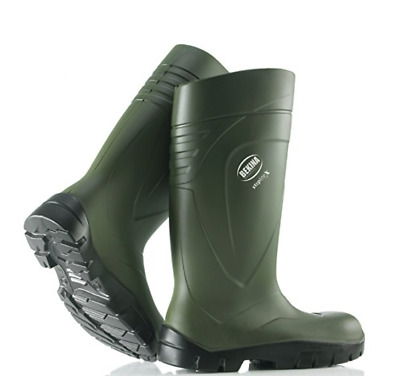 Bekina Steplite X Soft Toe Wellington Boots, Green, Insulated, Sizes 5-12