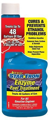 Star Tron Motorcycle Fuel Additive Enzyme Treatment 250ml Petrol Stabilizer