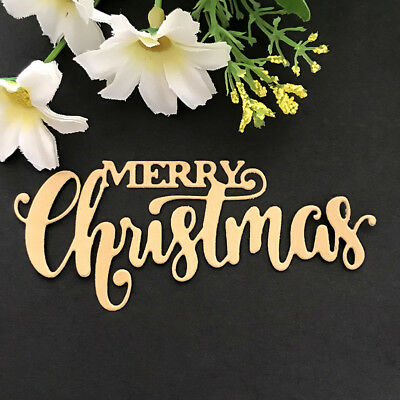 Merry Christmas Design Metal Cutting Dies For DIY Scrapbooking Card PaperAlbumHP