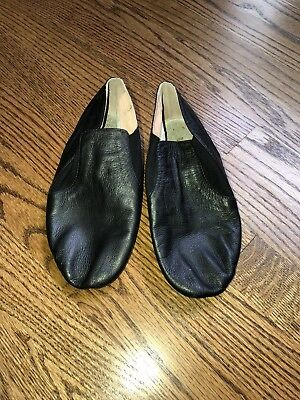 Girls Ladies Split Sole Bloch Black Jazz Dance Shoe 5 5.5 EUC!