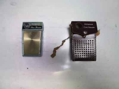 WESTINGHOUSE Seven Transistor Radio w/ Leather Case