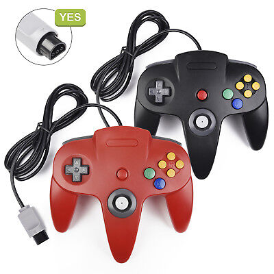 Game Controller Joystick Gamepad or 6FT Extension For Classic N64 Console Games