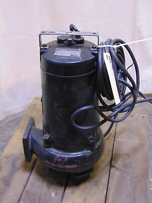 Industrial 2 HP 230v / 460v 3 Phase 291 GPM Effluent Submersible Sump Pump