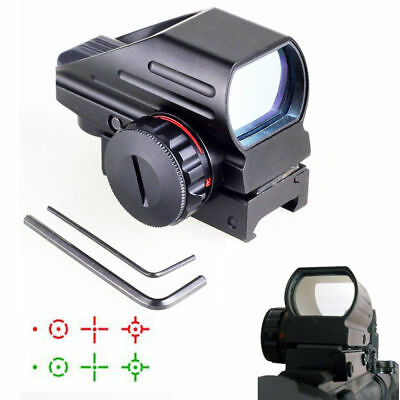 Telescopic 22X33 Sight Holographic 4 Reticle Red Green Dot Reflex Sight Laser
