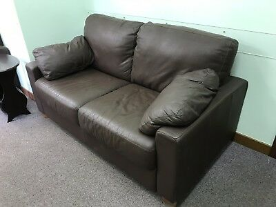 Remarkable Brown Leather 2 Seater Sofa Download Free Architecture Designs Scobabritishbridgeorg