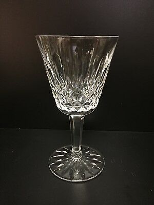"WATERFORD CRYSTAL LISMORE CLARET WINE STEM GLASS, 5-7/8"" Tall"