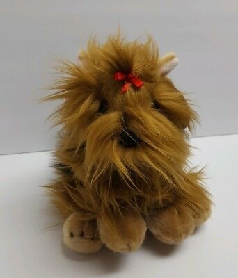 """Adventure Planet Heirloom Buttersoft Collection 10"""" Yorkshire Terrier Plush Dog"""